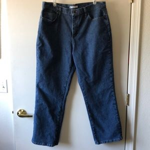 Lee Relaxed Fit at the waist jeans size 16S EUC